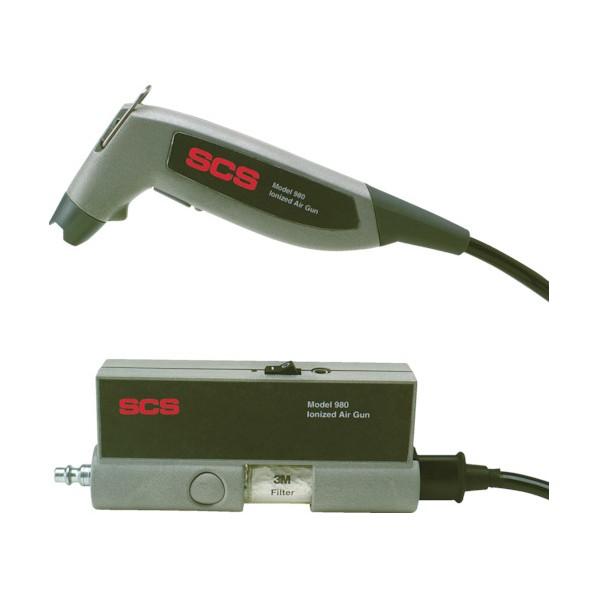 SCS SCS イオナイズドエアーガン 980 270 x 240 x 140 mm 静電気対策用品