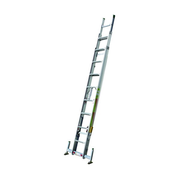 ※法人専用品※ナカオ ナカオ 3連伸縮はしご レン太 7m アウトリガー付 3REN-7.0A はしご・脚立
