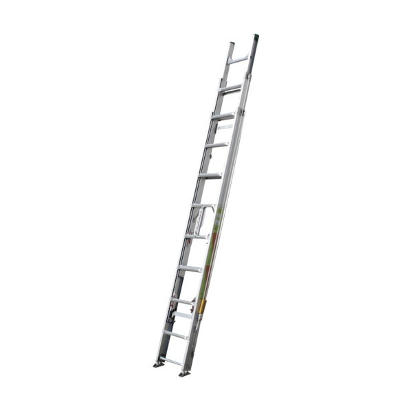 ※法人専用品※ナカオ ナカオ 3連伸縮ハシゴ レン太 9m 3REN-9.0S はしご・脚立