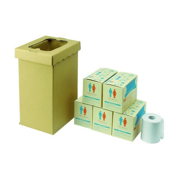 sanwa sanwa 非常用トイレ袋 くるくるトイレ100回分 430 x 270 x 220 mm 3S