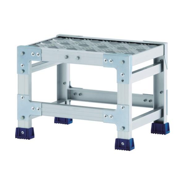 アルインコ 作業台(天板縞板タイプ)2段 730 x 665 x 145 mm CSBC265S 1