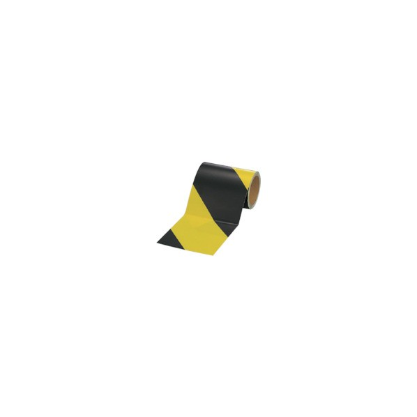 ユニット 蛍光反射テープ黄/黒黄部反射150mm幅×10m巻 864-62