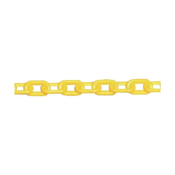 オーバーのアイテム取扱☆ ☆最安値に挑戦 ユニット プラスチックチェーン黄40m 871-11