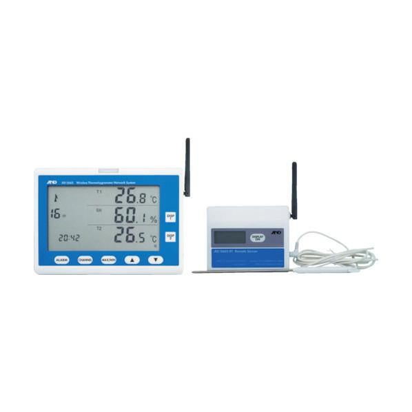 A&D A&D ワイヤレス温湿度計 AD5665SET 200 x 300 x 160 mm 1