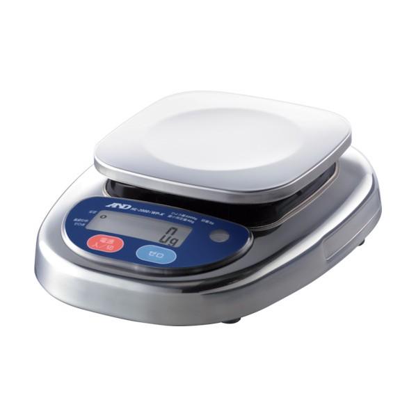 A&D 防塵防水デジタルはかり(検定付・1区) HL2000IWPKA1         8503 1台
