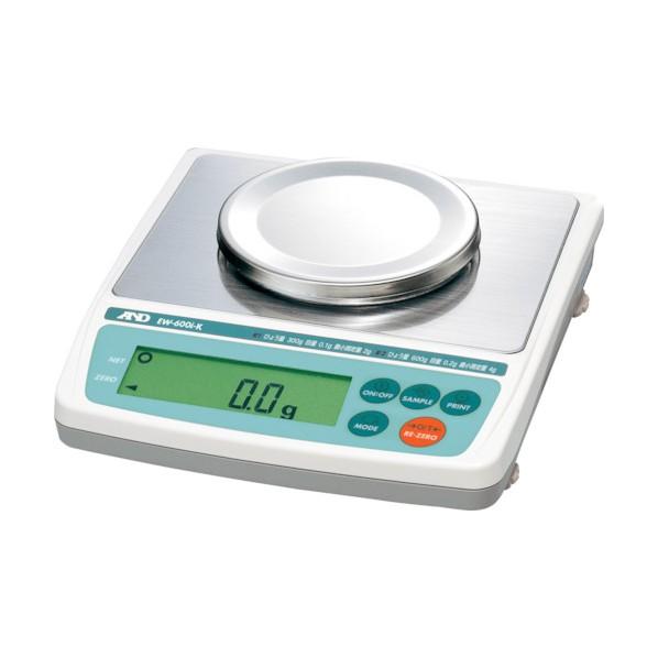 A&D A&D 検定付きパーソナル天びん EW600i-K 8区検定品 33 x 28 x 14 cm EW600IK 計測機器