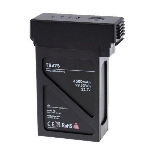 DJI DJI Matrice 600 インテリジェントフライトバッテリー TB47S 178 x 120 x 76 mm 光学・精密測定機器