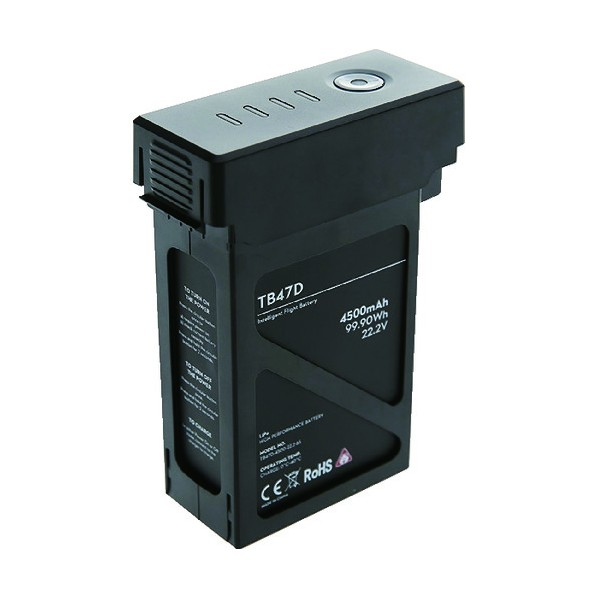 DJI DJI Matrice 100 TB47Dバッテリー 179 x 122 x 75 mm 光学・精密測定機器