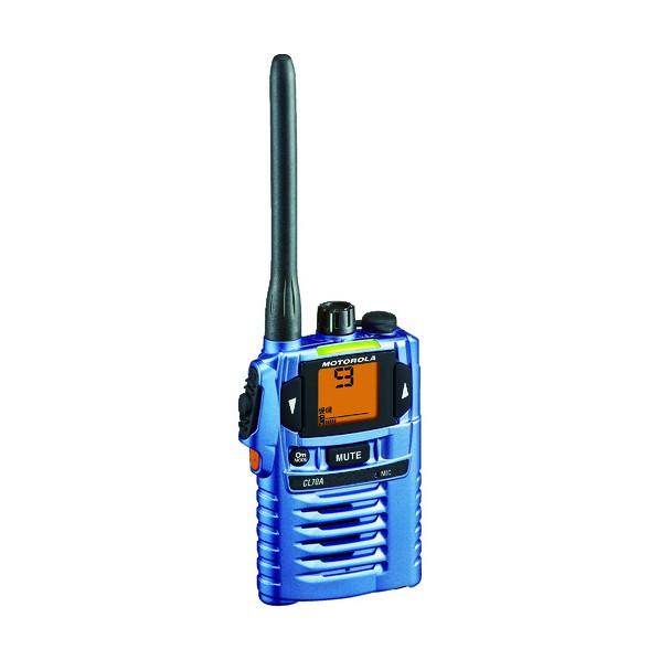 x 特定小電力トランシーバー モトローラ 安全用品 モトローラ mm CL70A-BL 43 244 114 x