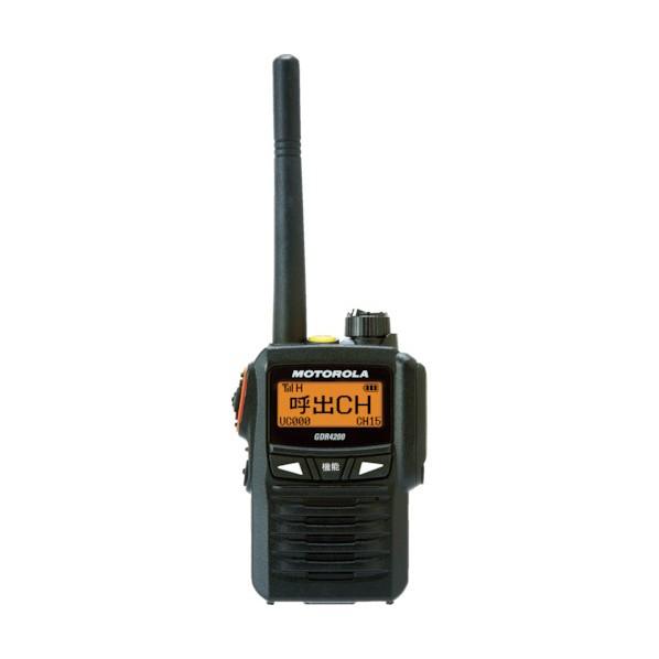 モトローラ モトローラ デジタル簡易無線機 223 x 160 x 77 mm GDR4200 安全用品