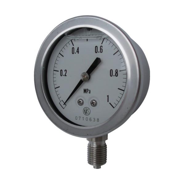 長野 長野 グリセリン入圧力計 GV50-123-15.0MP 計測機器
