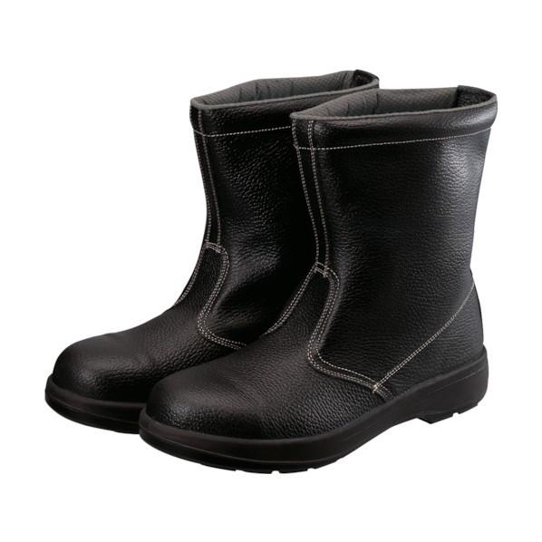 シモン シモン 2層ウレタン底安全半長靴 26.5cm ブラック 280 x 320 x 120 mm 1個