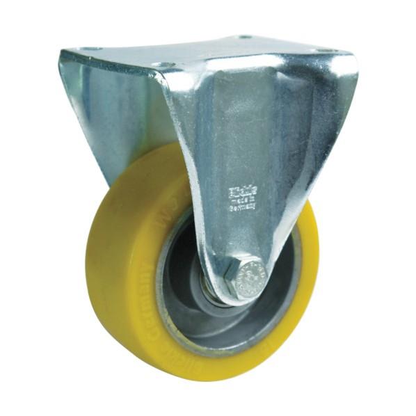 シシク シシク 重荷重用キャスター 固定 200径 ウレタン車輪 BH-ALTH200K キャスター