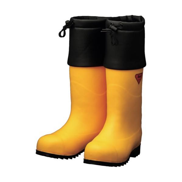 SHIBATA SHIBATA 防寒安全長靴 セーフティベアー#1001白熊(イエロー) 500 x 370 x 110 mm AC091-27.0 10