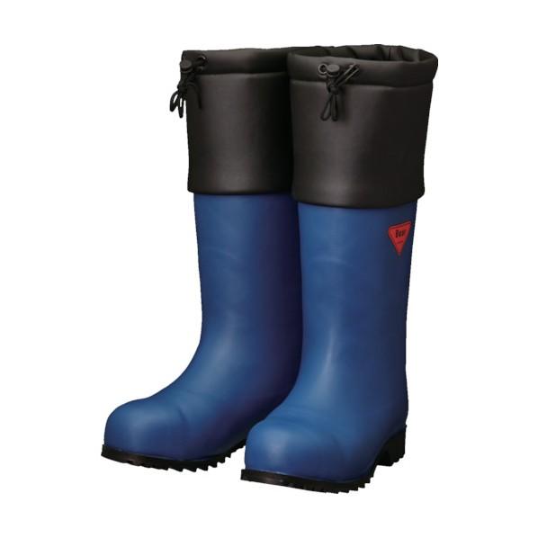 SHIBATA SHIBATA 防寒安全長靴 セーフティベアー#1001白熊(ネイビー) 500 x 370 x 110 mm AC051-22.0 10