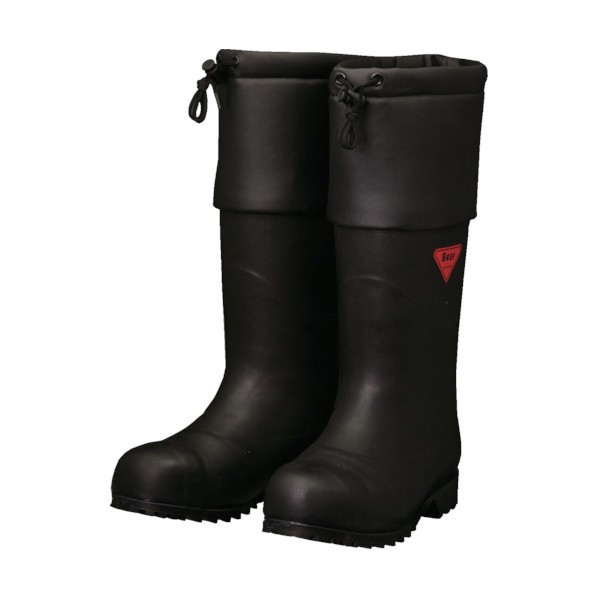 SHIBATA SHIBATA 防寒安全長靴 セーフティベアー#1001白熊(ブラック) 500 x 370 x 110 mm AC111-25.0 10