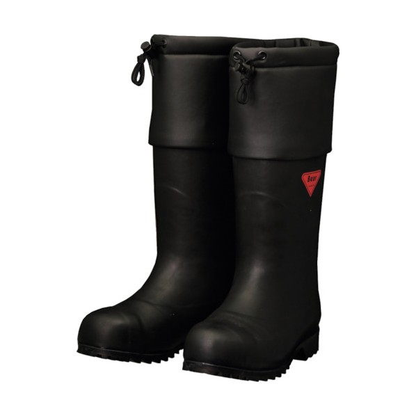 SHIBATA SHIBATA 防寒安全長靴 セーフティベアー#1001白熊(ブラック) 500 x 370 x 110 mm AC111-26.0 10