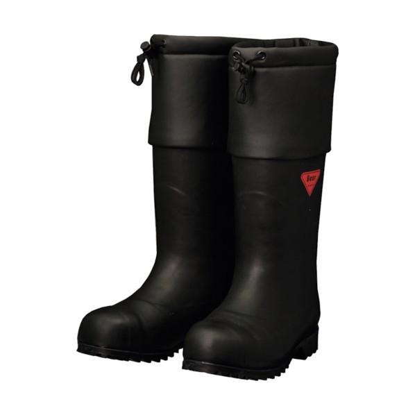 SHIBATA SHIBATA 防寒安全長靴 セーフティベアー#1001白熊(ブラック) 500 x 370 x 110 mm AC111-28.0 10