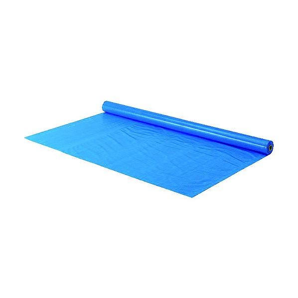 トラスコ(TRUSCO) TRUSCO 防炎シートα軽量 ブルー ロールタイプ幅1.8mX長さ50.0m 1850 x 145 x 145 mm 1