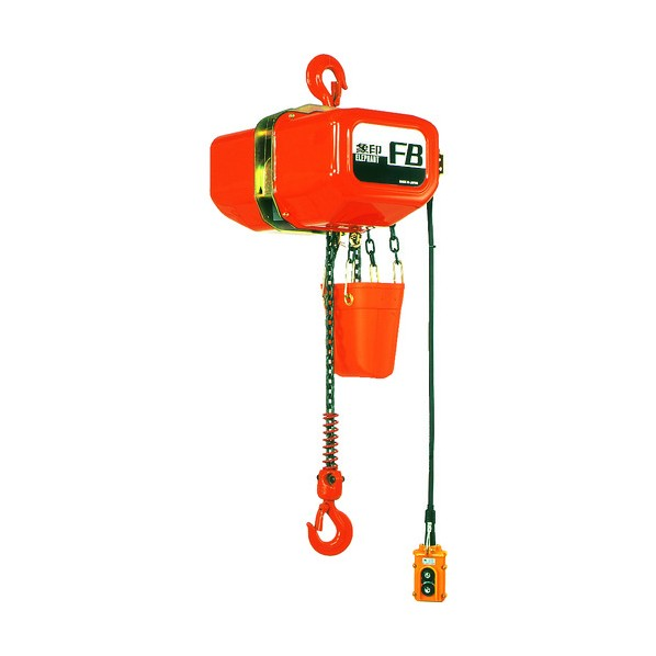 象印 象印 FB型電気チェーンブロック1t(2速型) F4-01030 1