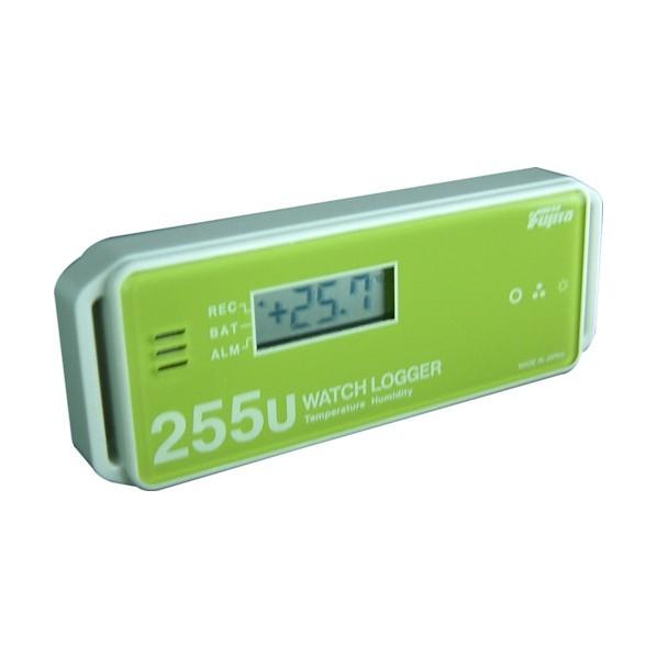 ※法人専用品※Fujita Fujita 表示付温湿度データロガー(ステックタイプ) KT-255U 1個