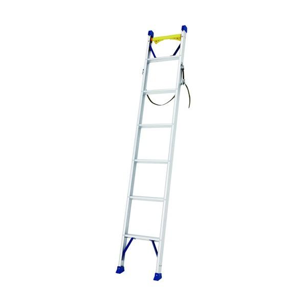 ハセガワ ハセガワ 電柱昇降用1連はしご 2.14m 安全ベルト、バンド付 2140 x 400 x 70 mm 1
