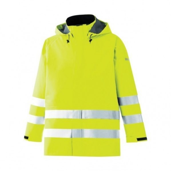 ミドリ安全 ミドリ安全 雨衣 レインベルデN 高視認仕様 上衣 蛍光イエロー LL 380 x 500 x 40 mm 20