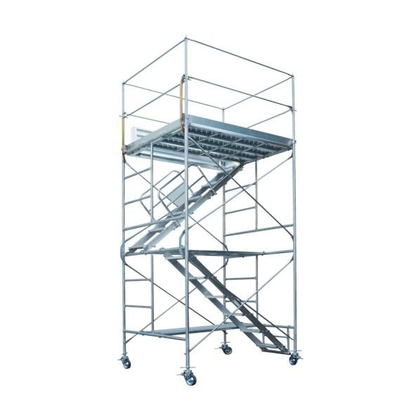 ピカ ピカ 鋼管製移動式足場ローリングタワー内階段仕様 RA-4UHA 1