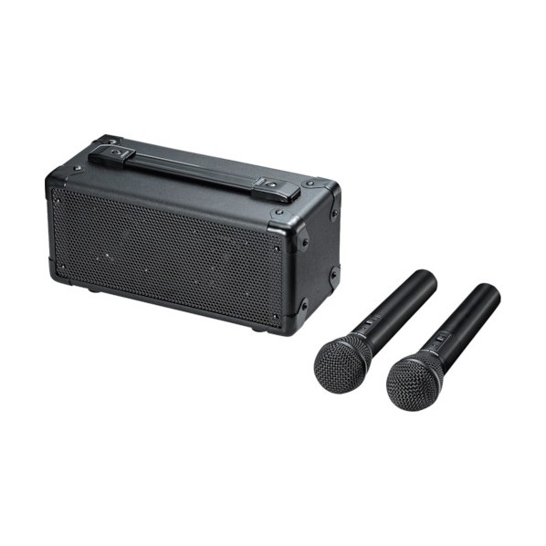 SANWA SANWA ワイヤレスマイク付き拡声器スピーカー MM-SPAMP7