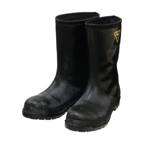 SHIBATA SHIBATA 冷蔵庫用長靴-40℃ NR041 28.0 ブラック 483 x 340 x 118 mm NR041-28.0
