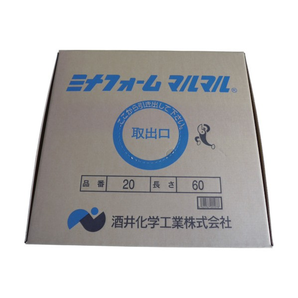 ミナ ミナ ミナフォームマルマル25mmφ×2m (100本入) 2200 x 300 x 300 mm MM-25 1本