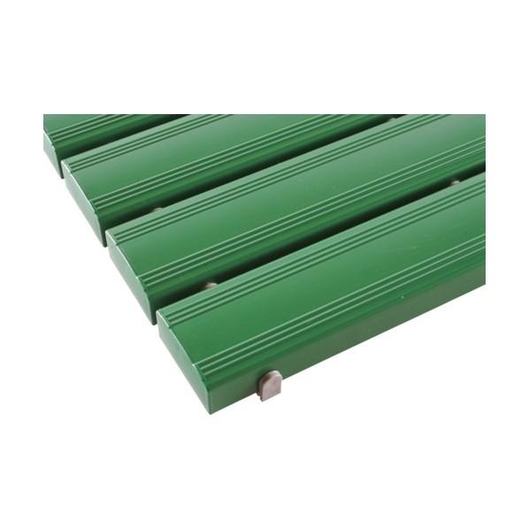 テラモト テラモト 抗菌安全スノコ(組立品)400×1800緑 1800 x 400 x 48 mm