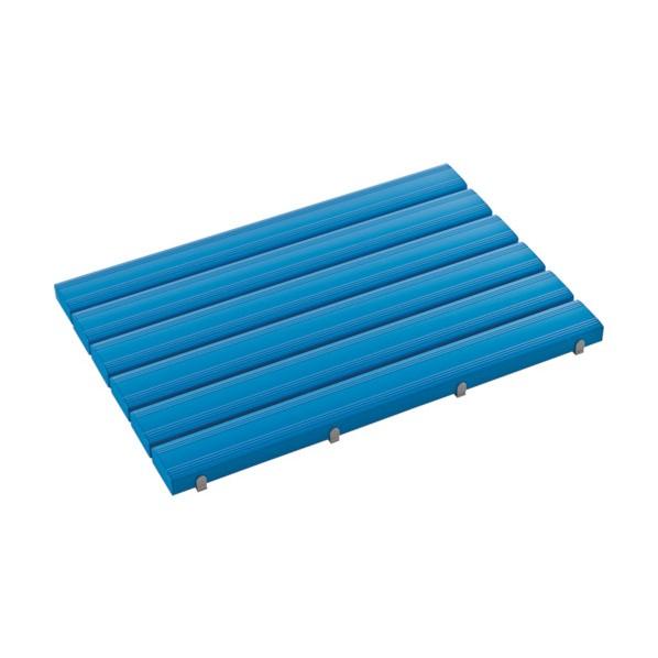 テラモト テラモト 抗菌安全スノコ(組立品)600×1200青 1200 x 600 x 48 mm