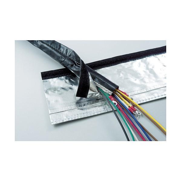 トラスコ(TRUSCO) TRUSCO 電磁波シールド結束チューブ マジックタイプ 50Φ5m 182 x 181 x 238 mm MTF-50-5 10