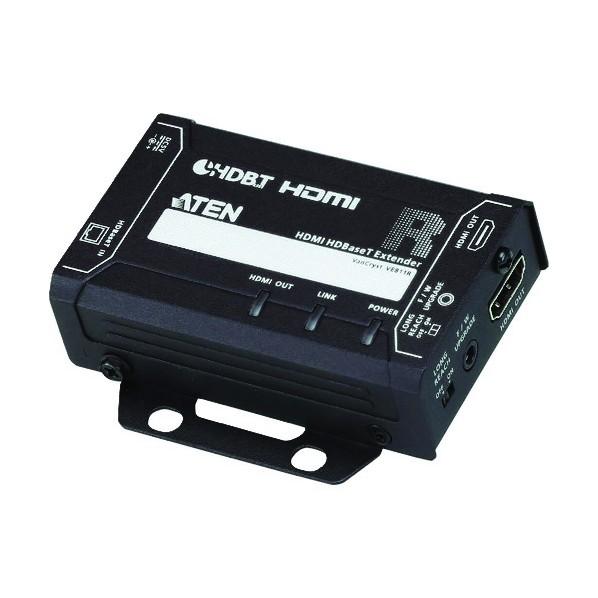 ATEN ATEN ビデオ延長器 HDMI/4K/コンパクトモデル/HDBaseT/1080pロングリーチモード対応 242 x 162 x 62 mm