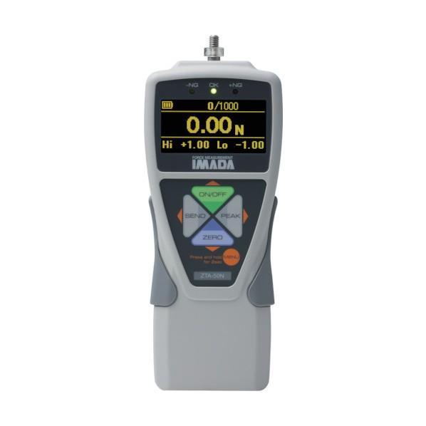 イマダ イマダ  標準型デジタルフォースゲージ(多機能タイプ) 使用最大荷重500N ZTA-500N 1