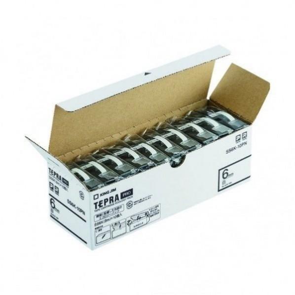 キングジム キングジム 「テプラ」PROテープエコパック(10個入り) 81 x 231 x 74 mm 1個