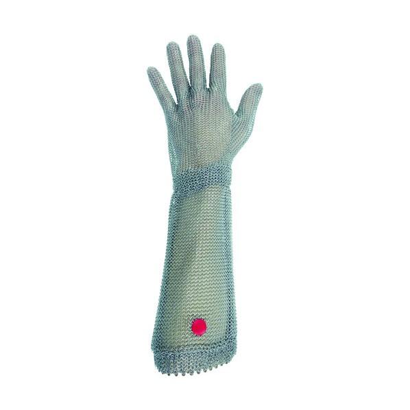 ミドリ安全 ミドリ安全 ステンレス製 耐切創クサリ手袋 5本指 ロングタイプ WILCO-550 Mサイズ 1枚 260 x 210 x 30 mm 1個