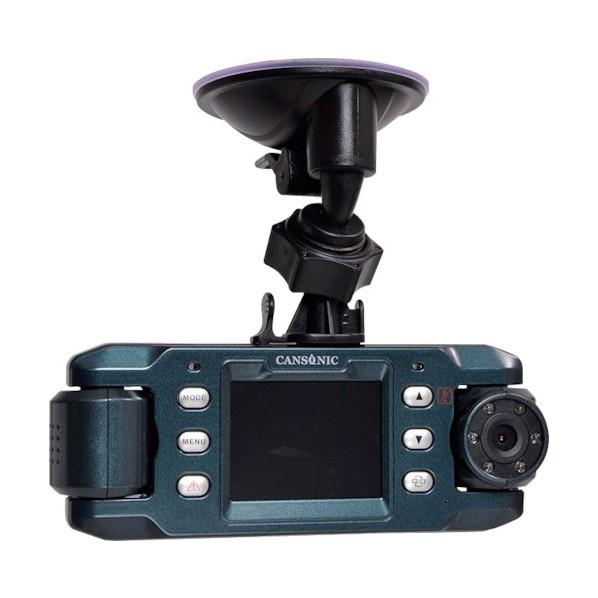 サンコー サンコー 前後赤外線付きデュアルレンズドライブレコーダーGPS2 X9DVRDL 安全用品