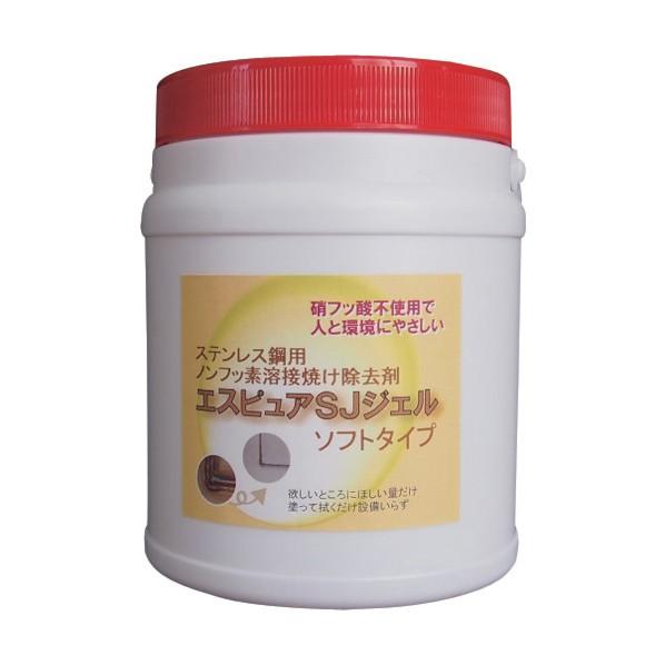 佐々木化学 佐々木化学 ステンレス溶接焼け除去剤 エスピュアSJジェル(低粘度タイプ)1kg 160 x 160 x 180 mm SJJEL(SOFT)1000G 1個