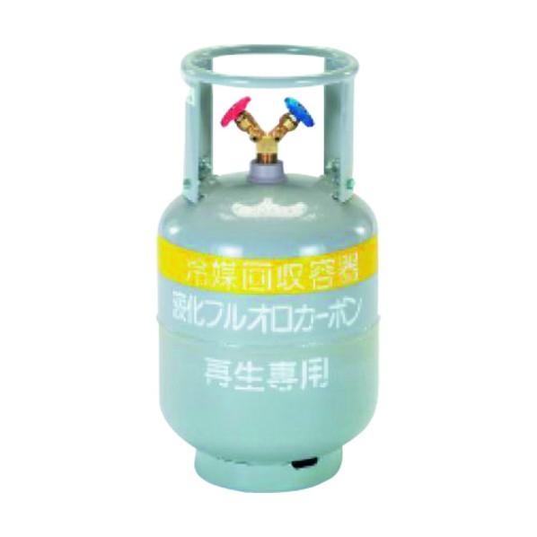 タスコ 冷媒ガス再生専用回収ボンベ TA110-20SN 310 x 310 x 576 mm TA110-20SN 1個
