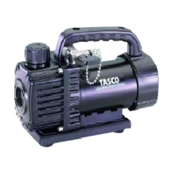 タスコ イチネンウルトラミニシングルステージ真空ポンプ オイル逆流防止弁付 本体のみ TA150SV 120 x 215 x 160 mm TA150SV 1個
