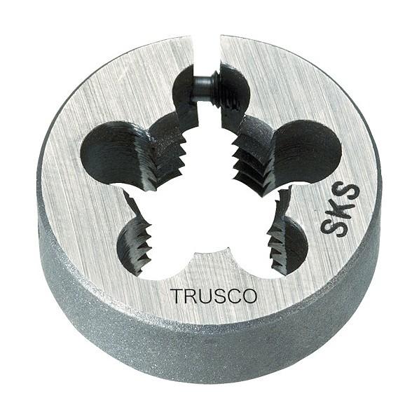 トラスコ(TRUSCO) TRUSCO 管用平行ダイス SKS 75径 11/2PF11 77 x 77 x 30 mm TKD-75PF11/2-11 1