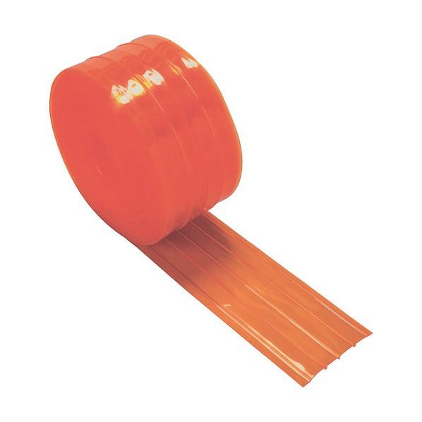 トラスコ(TRUSCO) ストリップ型リブ付き間仕切りシート防虫オレンジ3X300X30MTSRBO-330-30 4540221 1個