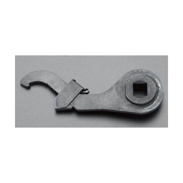 エスコ(esco) 95-165mm 自在フックレンチ(1/2