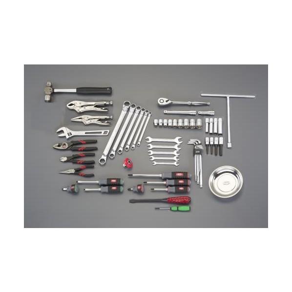 エスコ(esco) [56個組] 工具セット EA612SB-11 1組