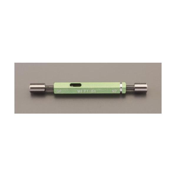 ※法人専用品※エスコ(esco) M12xP1.25/105mm限界ねじゲージ(ISO導入JIS) EA725DK-9 1個