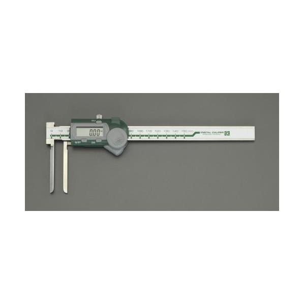 ※法人専用品※エスコ(esco) 5-150mm デジタルノギス(インサイド型) EA725CR-60 1個
