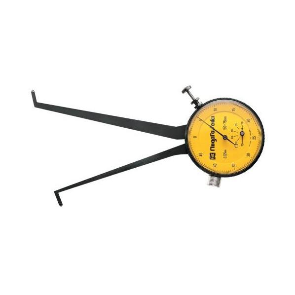 ※法人専用品※エスコ(esco) 50-75mm ダイヤルキャリパゲージ(内測用) EA725AC-61 1個