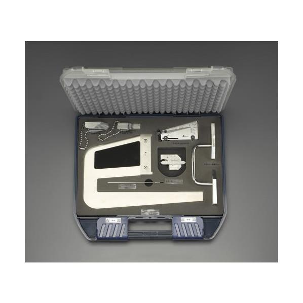 ※法人専用品※エスコ(esco) 鉄骨精度測定器具(7点セット) EA725EX-12 1個